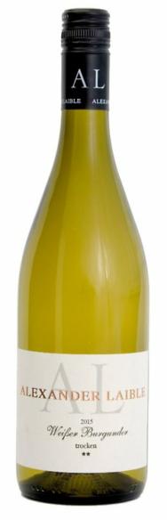 Weingut Alexander Laible Weisser Burgunder ** trocken