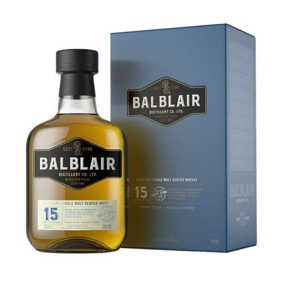 Whisky Balblair 15 years