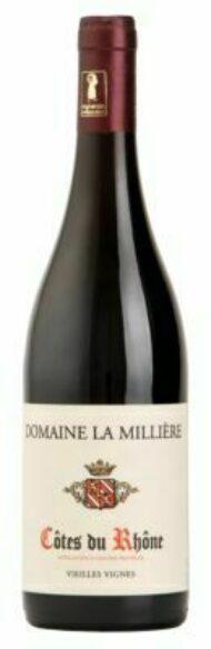 Domaine La Millière Côtes du Rhône vieilles vignes rouge