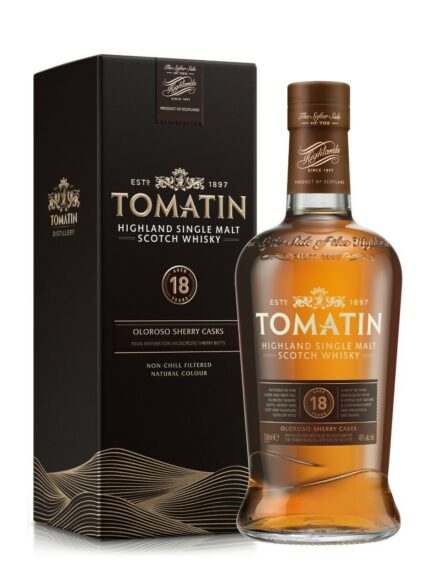 Whisky Tomatin 18 years